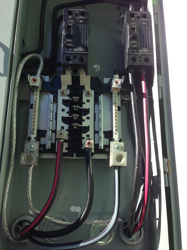 fuse box wired to code by our kansas city electrician - Bickimer ...
