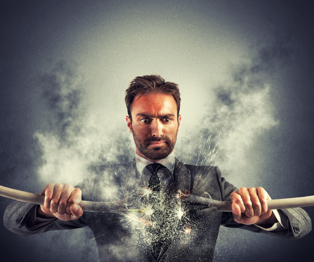 Electric Shock Businessman With Broken Cable 1030x859