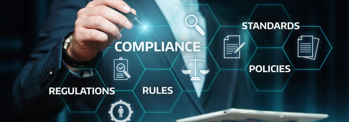 Policies Compliance Rules Regulations Standards Image 1210x423