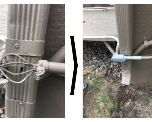 Before and After LB with Access Panel