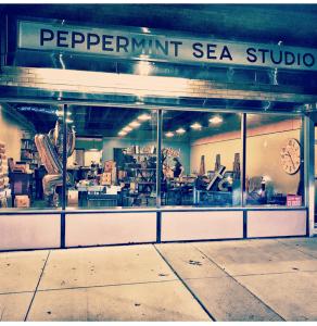 Peppermint Sea Studio Lighting