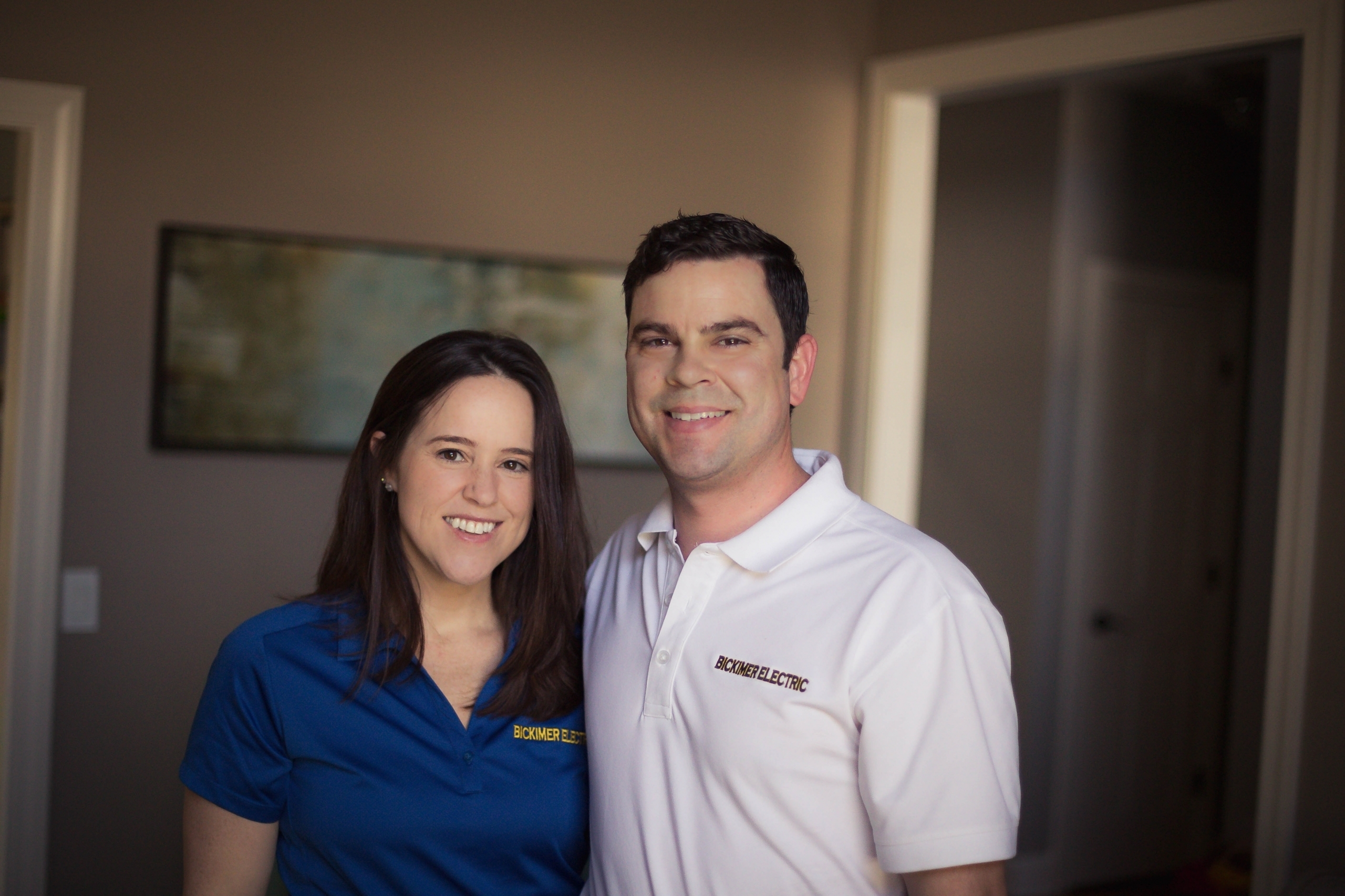 Bickimer Electric Owners Mike and Melissa Bickimer