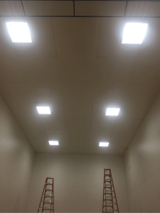 LED Retrofit In Racketball Cout 1 225x300